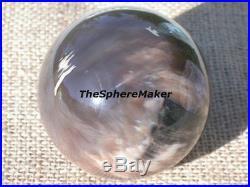 3.2 Petrified Wood Sphere Fossil Large Opalized Ball Oregon