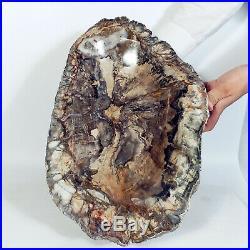 8640g POLISHED PETRIFIED WOOD FOSSIL Soap-dish Freeform Madagascar A2465