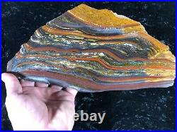 Banded Iron Formation Stromatolite Cyanobacteria Tiger Iron Western Australia11