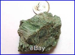 CHROMIUM! Extremely RARE Mint GREEN Petrified Wood Log ARIZONA 57.6