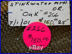Gorgeous Stinking Water Oak! TOP SHELF